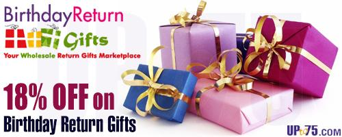 Birthday Return Gifts offers India