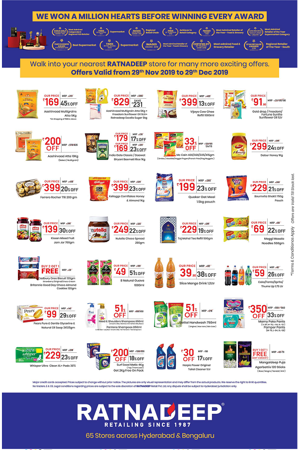 Ratnadeep Supermarket offers India