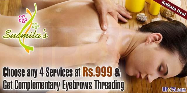 Susmitas Aroma and Ayurvedic Beauty Salon offers India
