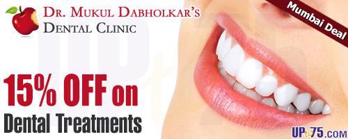 Dr  Mukul Dabholkars Dental Clinic offers India