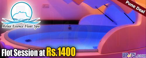 Relax Essence Float Spa offers India