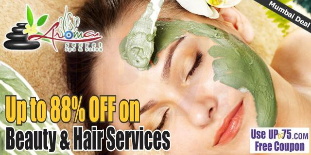 Aroma Secret Spa and Salon Unisex offers India