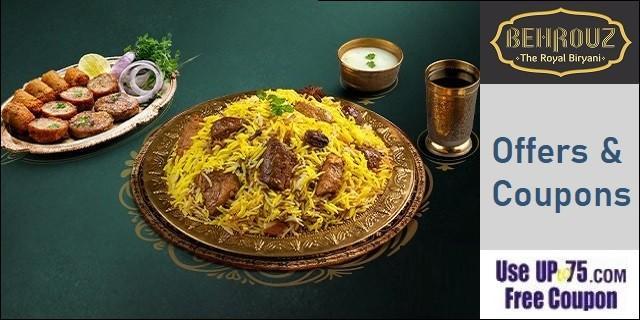 Behrouz Biryani offers India