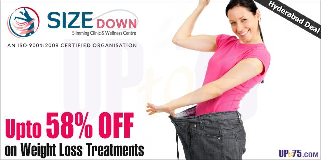 Size Down Slimming Clinic and Wellness Centre offers India