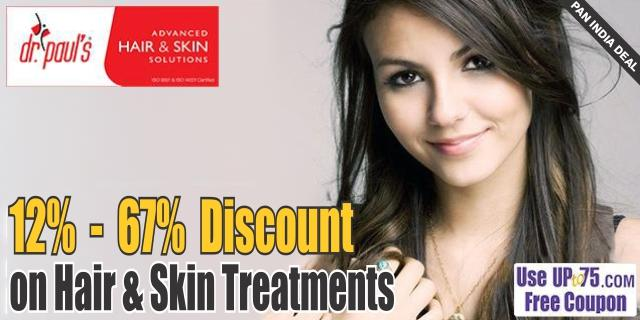 Dr Pauls Advanced Hair and Skin Solutions offers India