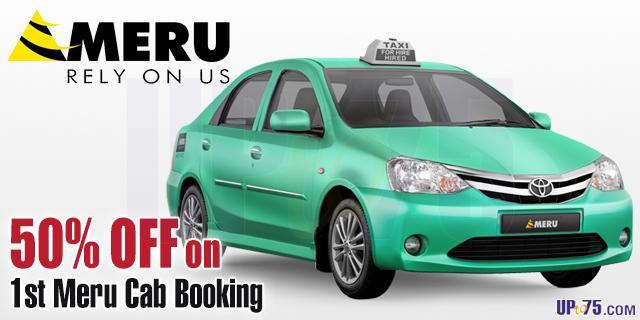 Meru Cabs offers India