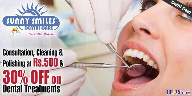 Sunny Smiles Dental Care offers India