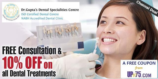 Dr Guptas Dental Specialities Centre offers India