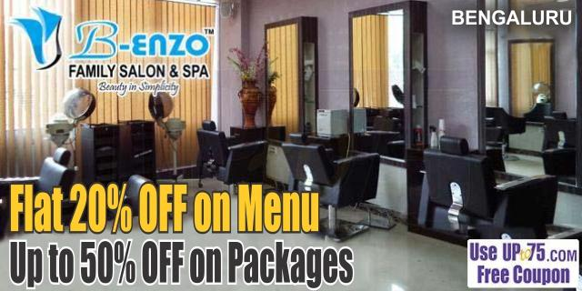 B-Enzo Family Salon and Spa offers India