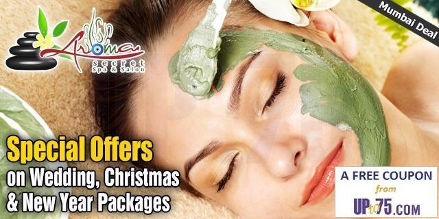 Aroma Secret Spa and Salon Unisex offers India