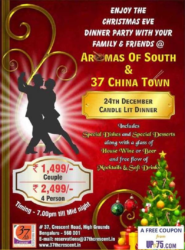37 China Town offers India
