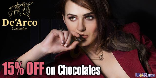 De Arco Chocolatier offers India