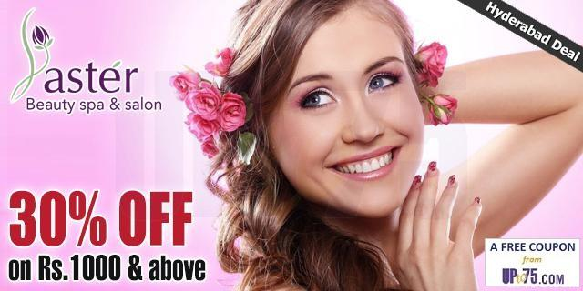 Aster Hair and Beauty Unisex Salon offers India
