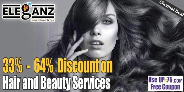 Eleganz Unisex Salon and Spa offers India