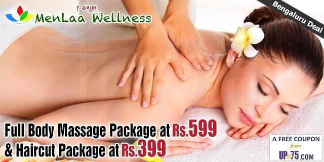 Menlaa Spa and Salon offers India