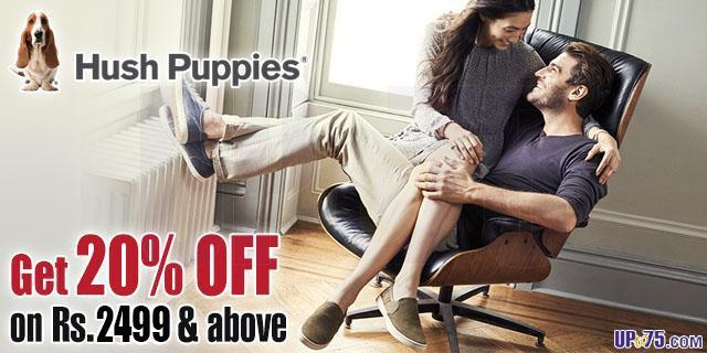 Hush Puppies offers India