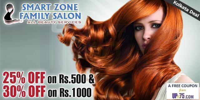 Smart Zone Family Salon offers India