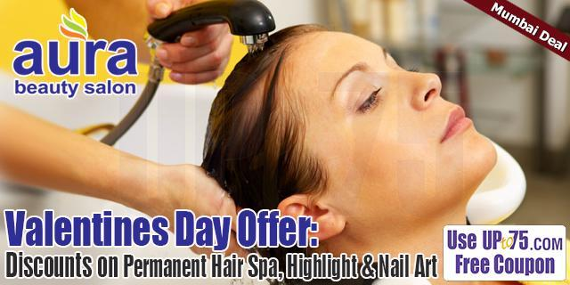 Aura Beauty Salon offers India