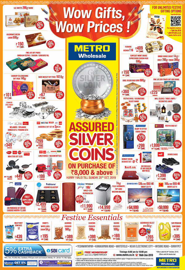 Metro Cash and Carry offers India