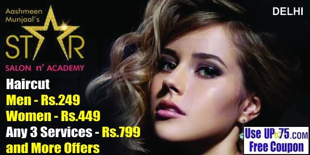 Aashmeen Munjaals Star Salon offers India