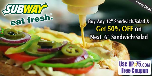 Subway offers India