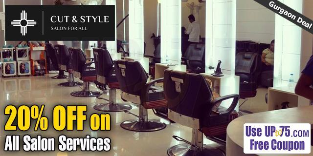 Cut and Style Salon for All offers India