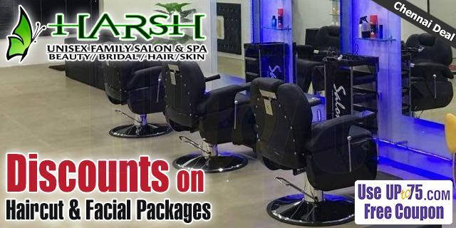 Harsh Family Salon and Academy offers India