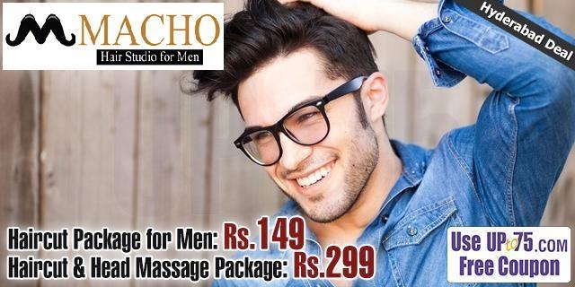 Macho Hair Studio for Men offers India