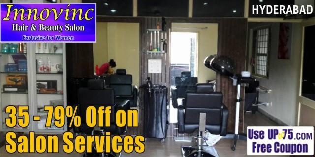 Innovinc Hair and Beauty Salon offers India