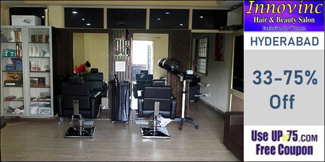 Innovinc Hair and Beauty Salon offers India