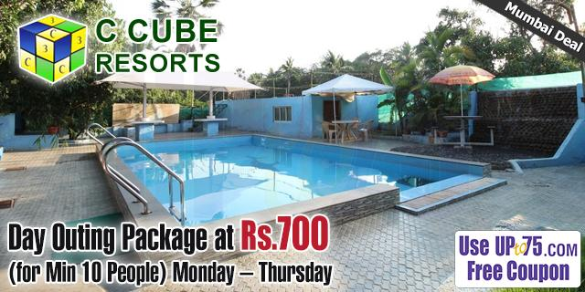 C Cube Resort offers India