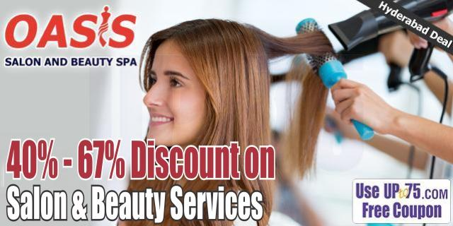 Oasis Salon and Beauty Spa offers India
