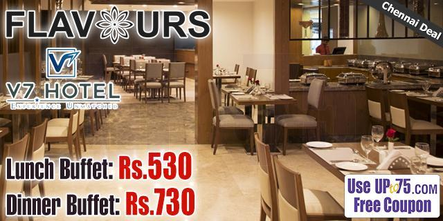 Flavours Restaurant - Hotel V7 offers India