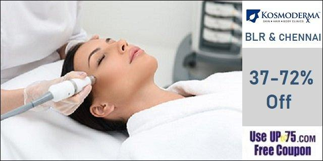 Kosmoderma Skin Hair and Body Clinics offers India