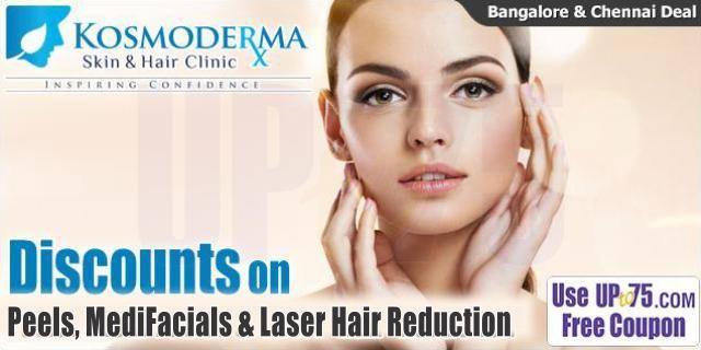 Kosmoderma Skin and Hair Clinics offers India