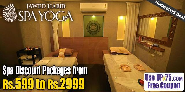 Jawed Habib Spa Yoga Gachibowli offers India