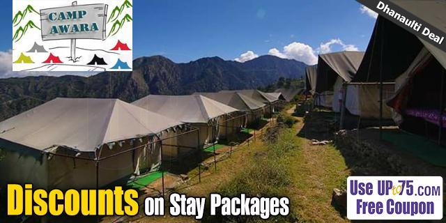 Camp Awara Dhanaulti offers India
