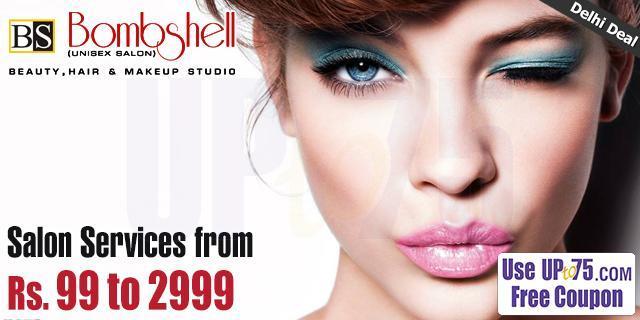 BombShell Unisex Salon offers India