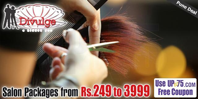 Divulge Beauty Salon offers India