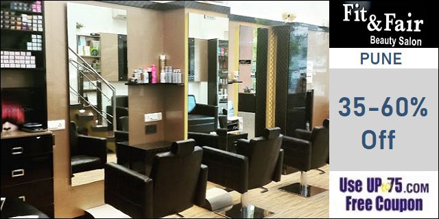 Fit and Fair Beauty Salon offers India