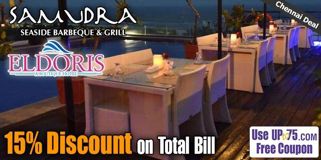 Samudra Barbeque and Grill Restaurant offers India