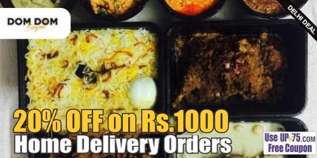 DomDom Biryani offers India