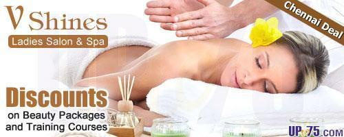 V Shines Ladies Salon and Spa offers India