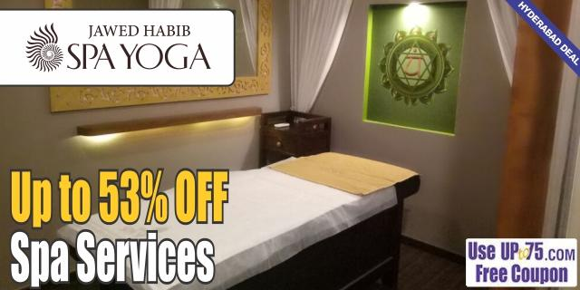 Jawed Habib Spa Yoga offers India