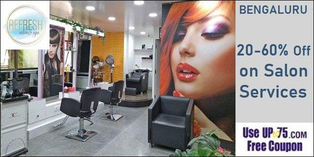 Refresh Salon and Spa offers India