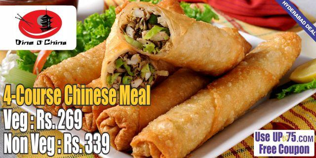 Dine O China offers India