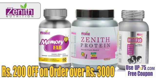 Zenith Nutrition offers India