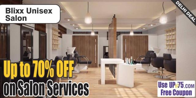 Blixx Unisex Salon offers India