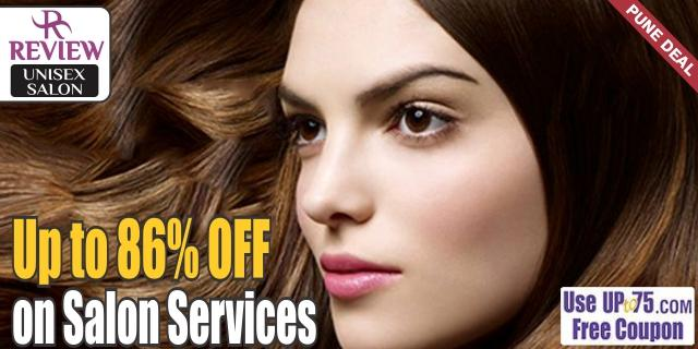 Review Unisex Salon offers India