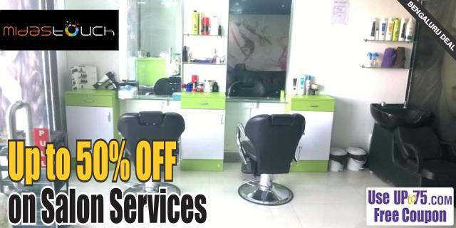 Midas Touch Unisex Salon offers India